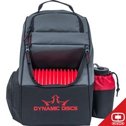 Dynamic Discs Trooper Backpack Red