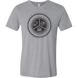 Dynamic Mens Discs Trilogy Spokes Tee