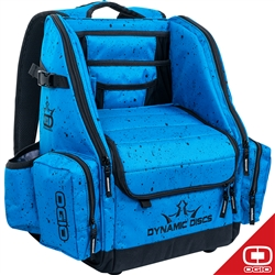 Dynamic Discs Commander Bag  Splatter Blue